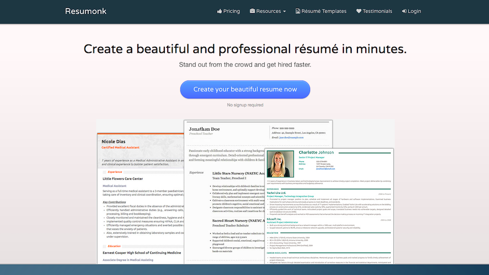 create a resume archives startup collections