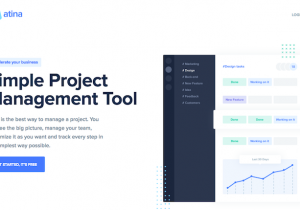 Simple Project Management Tool