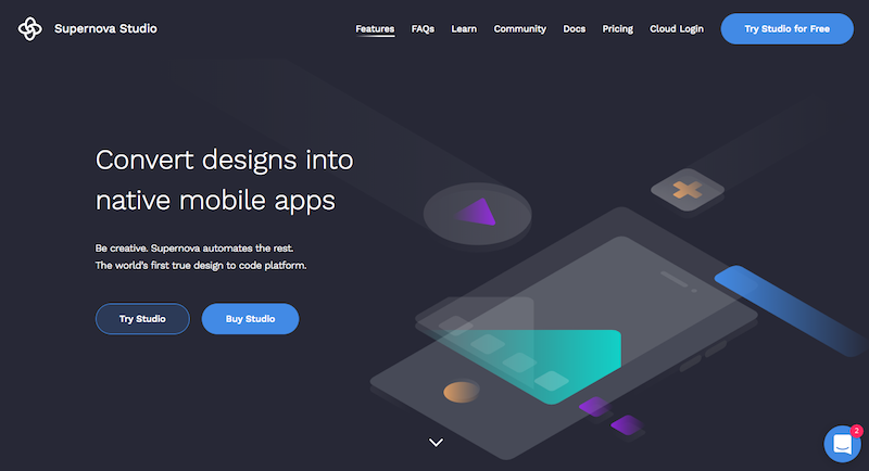 design to native apps