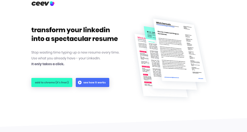 Linkedin Resume Builder  Resume Builder From Linkedin